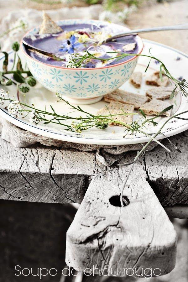 Les Cuisines de Garance: Soupe au chou rouge {sans autre forme de finesse }...