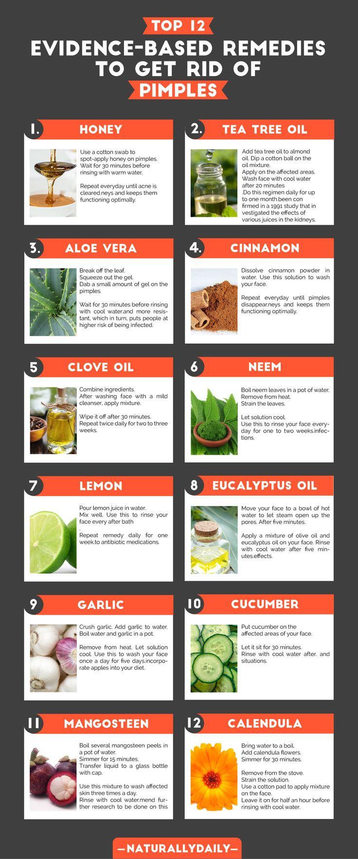 16 natürliche Hausmittel für Pickel (evidenzbasiert)