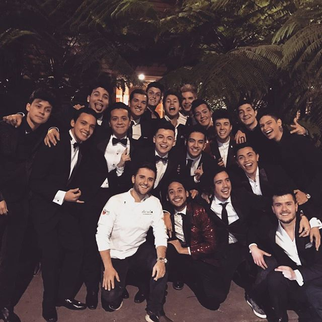 Gracias por esta gran noche #Caballeros ❤️⚔