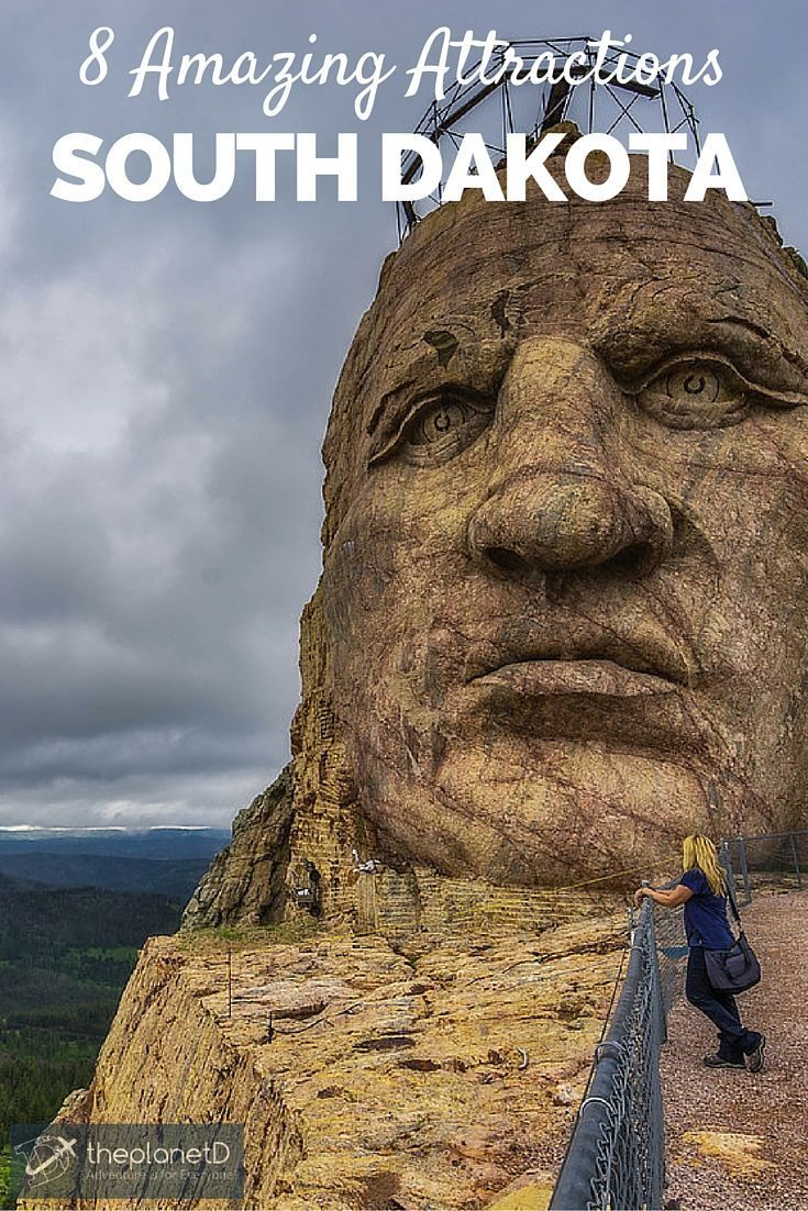 Getting up close and personal with the face of Crazy Horse in the Black hills of South Dakota // 8 Amazing South Dakota Attractions | The Planet D Adventure Travel Blog