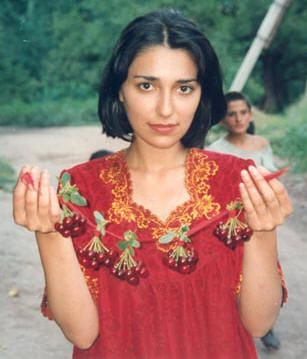 Pamiri Woman from Tajikistan.