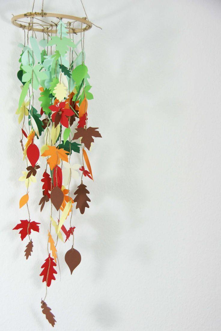 Herbst-Blätter-Mobile