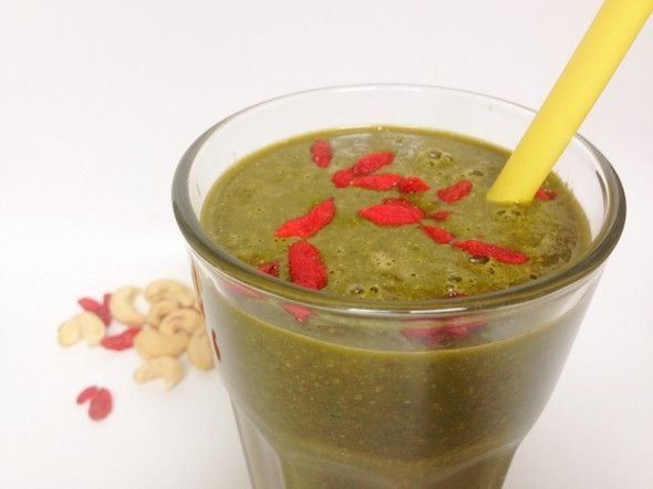 I Love Health | Skinny matcha green thee smoothie recipe | http://www.ilovehealth.nl