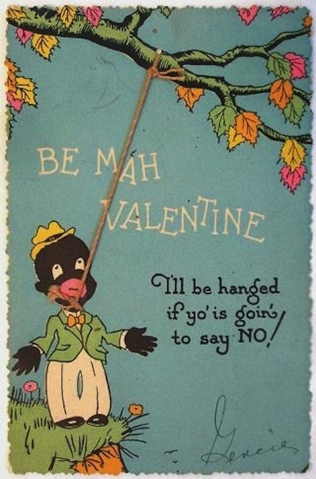 funny racist valentines day cards