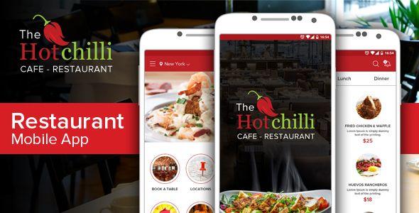 Hot Chilli App - Food Retail Download here : https://themeforest.net/item/hot-chilli-app/20521790?s_rank=93
