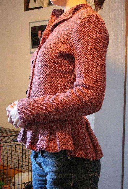 Beatrix jacket by kim hargreaves