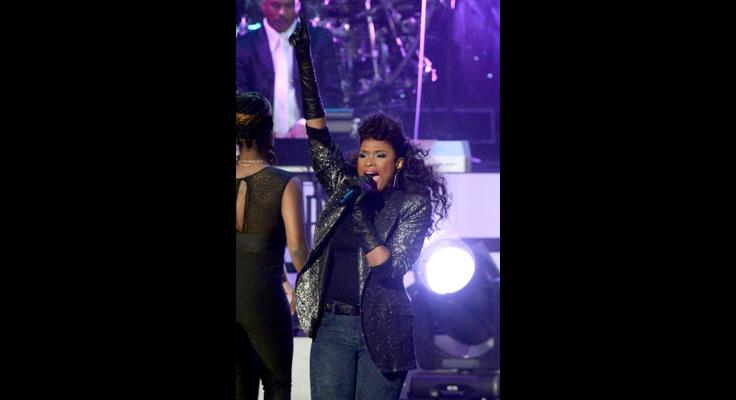 Jennifer Hudson | GRAMMY.com: Grammy Winner, Whitney Houston, Jennifer Hudson, Grammy Salutation, Jennifer'S Hudson, Winner Jennifer, Hudson Performing, Los Angels, Grammy'S Com