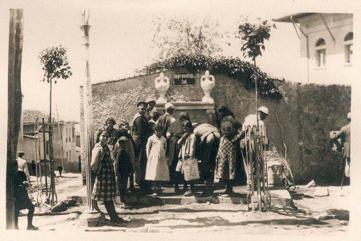 Değirmendağı-(Bayramyeri) Çeşmesi, 1940'lı yıllar.
