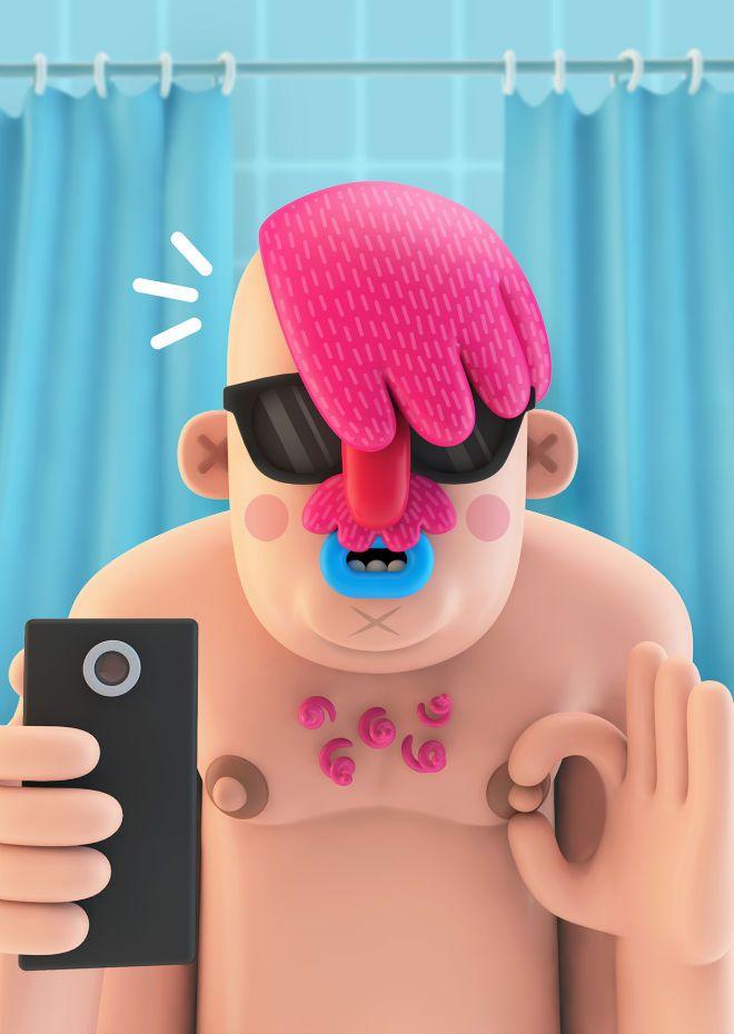 pictoplasma character selfies 04