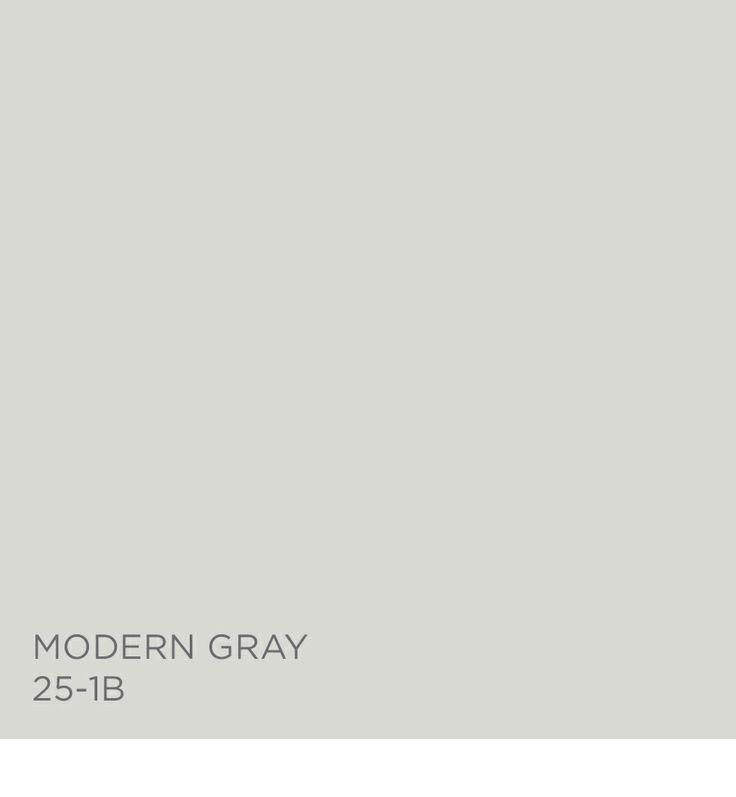 Modern Gray 25-1B available at ACE Hardware- Valspar Paint. Basement Trim