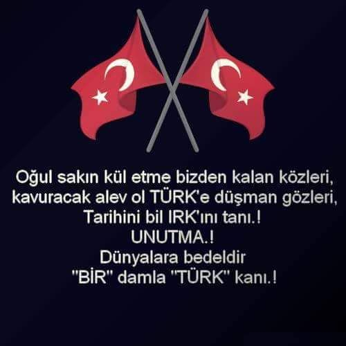 """EMMOĞLU #TürkBayrağıŞereftir DÜNYALARA BEDELDİR BİR DAMLA """"TÜRK"""" KANI…"""