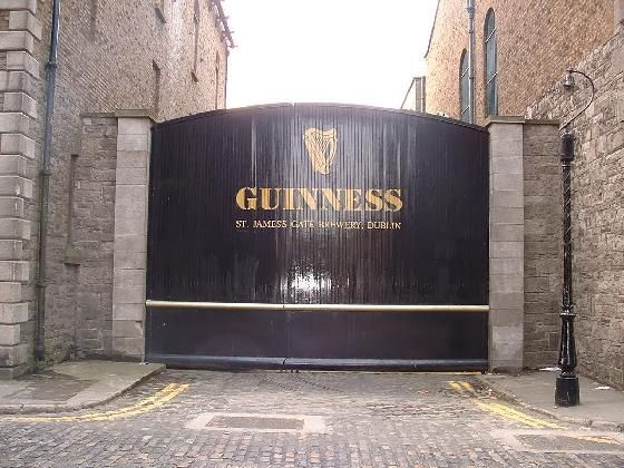 guinness factory dublin.  Who would end their Irish vacation WITHOUT going to the Guinness factory in Dublin?!