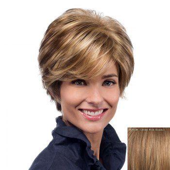 Short Human Hair Wigs   Cheap Real Human Hair Wigs For Black & White Women Online   DressLily.com