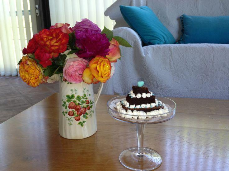 Piccola torta al cioccolato
