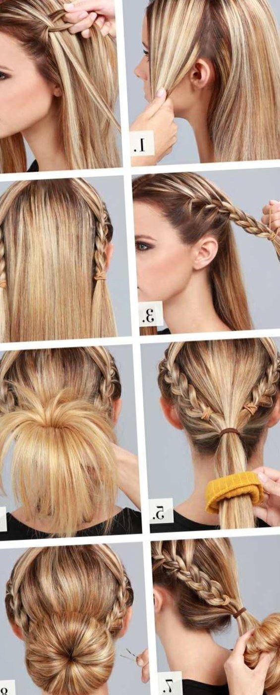 Haare Einfach Hochstecken Frisuren Trendfrisuren2019 Frisurideen