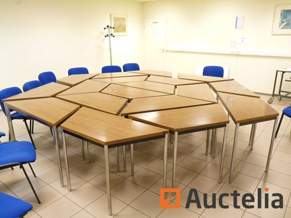 Modular Structurex Meeting Table RENCONTRE Meeting Table - Modular meeting table