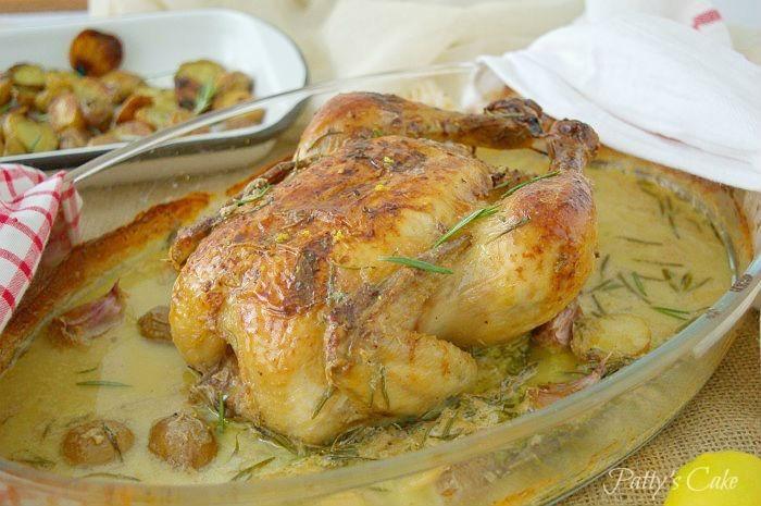 No hemos quedado de piedra cuando hemos visto esta receta. ¿Pollo asado con leche? ¡Hay que probarlo! Una receta del blog PATTY'S CAKE.