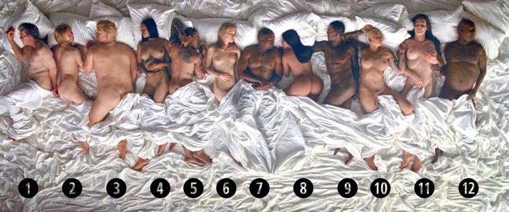 "Lena Dunham Slams Kanye West's ""Famous"" Music Video  - HarpersBAZAAR.com"