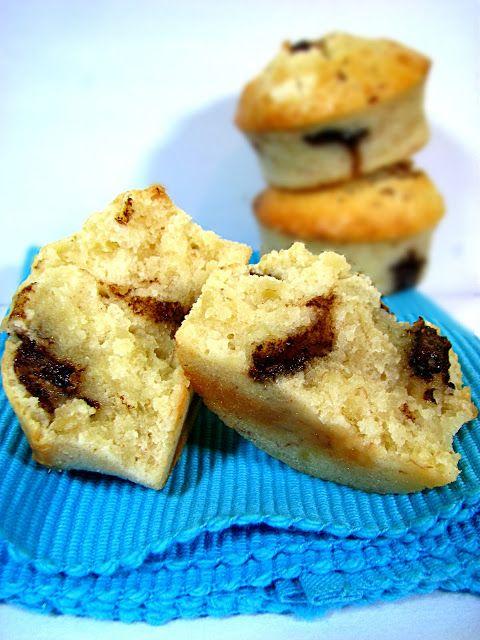 Bananowe Muffinki z Kawałkami Czekolady Just My Delicious
