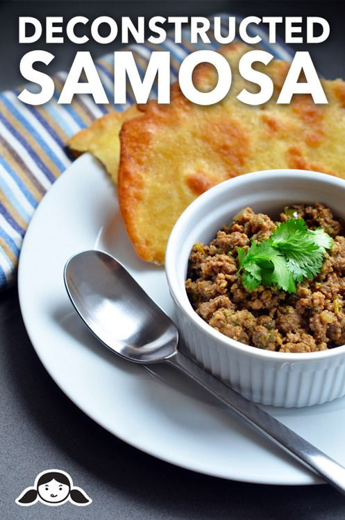 Deconstructed Samosa (Spiced Keema) by Michelle Tam http://nomnompaleo.com (kick up the spices if you love samosas, its a bit mild)
