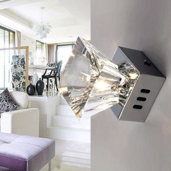 Wall lamp ceiling