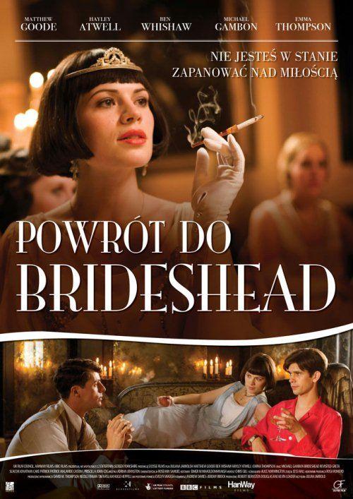 """""""Powrót do Brideshead"""", to pełna namiętności historia miłosnego trójkąta, utraconej niewinności oraz wystawionej na próbę siły charakteru. A w tle splendor i dekadencja, chylącej się ku upadkowi angielskiej arystokracji, u progu drugiej wojny światowej. Rozgrywająca się trzy dekady historia rozpoczyna się w 1925 roku w Oksfordzie, gdzie na studia trafia zdolny, lecz skromnie urodzony Charles Ryder."""