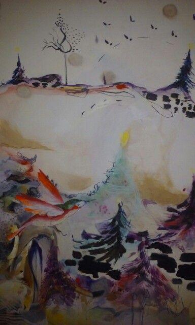 My painting chrismas inspiration