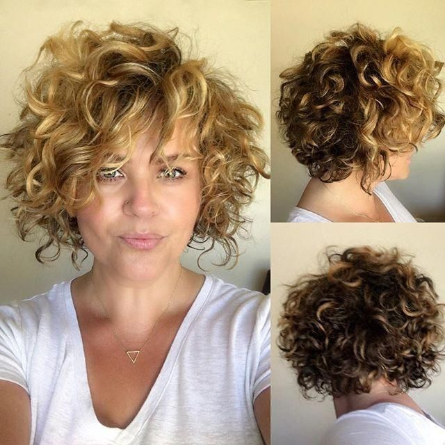 Pin On Curly Hair Bob