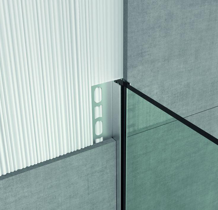 Steel Profiles for Shower Enclosures - GPS2