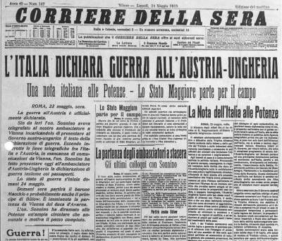 L'Italia nella Prima guerra mondiale, un'inutile strage