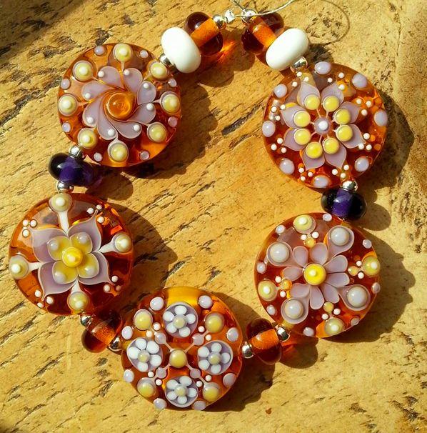 pixie willow designs lampwork beads