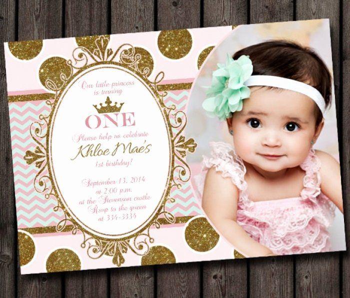 first birthday invitation template free
