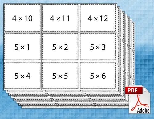 printable multiplication flash cards                                                                                                                                                                                 More