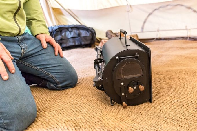 Portable: Wood-Burning Camp Stove Packable, Light