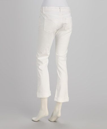 Look at this #zulilyfind! Ice Chloe Boyfriend Jeans by David Kahn #zulilyfinds