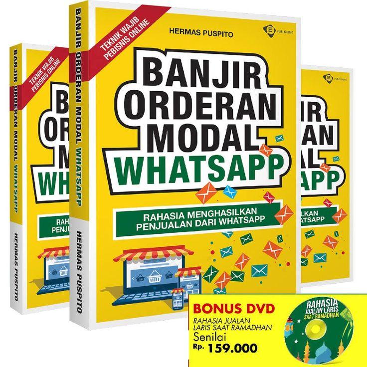 *Siap-siap Kebanjiran Orderan Lagi*    Dari kemarin grup sudah rame belajar ttg Whatsapp marketing euy. Belajar:  - Bagaimana dari Whatsapp bisa punya ratusan reseller  - Bagaimana dari Whatsapp bisa tembus closing terusN  - Bahkan bs tembus transferan terus.