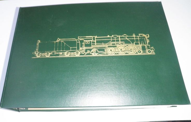 Locomotives Of The World, Stamp Book, Collectible stamps