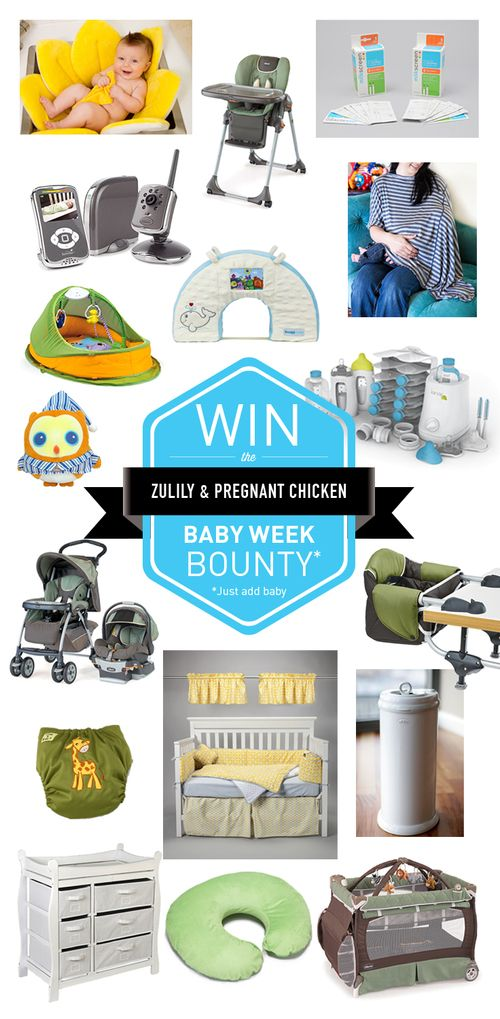 An incredible prize pack worth over $2,200 in baby gear for one lucky winner to celebrate Zulily Baby Week! — Pregnant Chicken