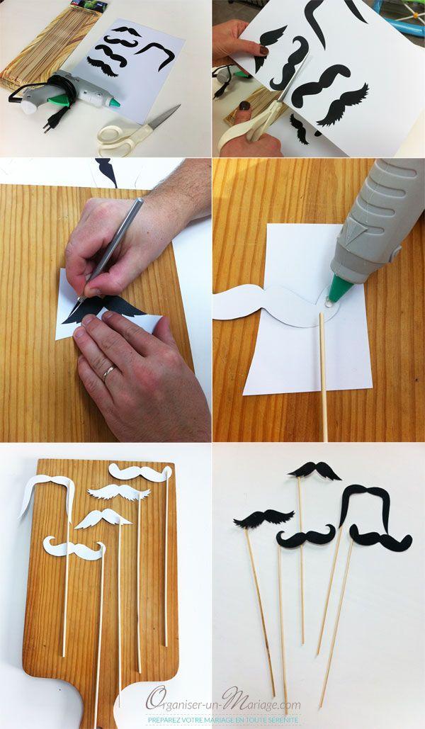 Des moustaches à télécharger et imprimer gratuitement - Organiser un mariage
