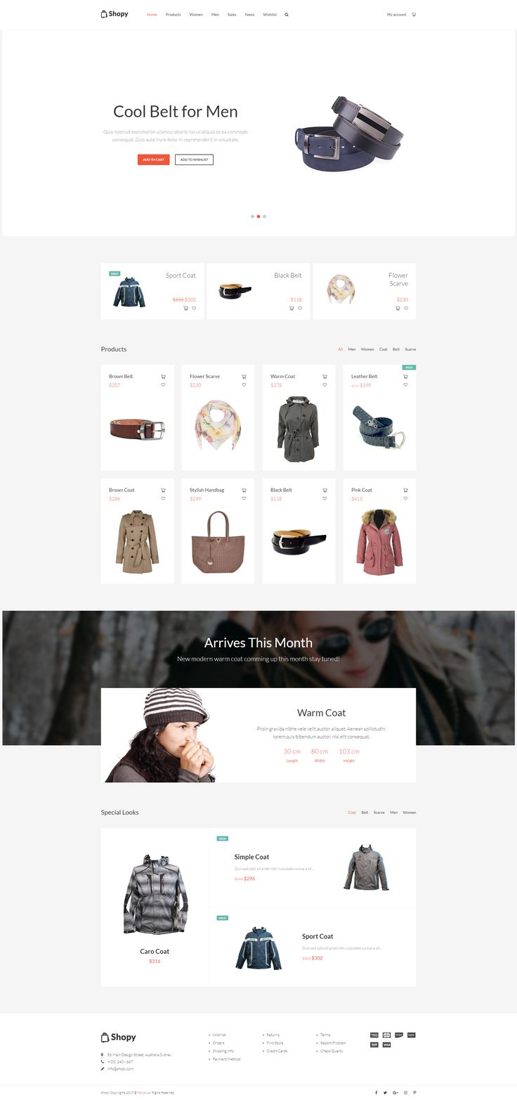 Shopy is a minimalist #WooCommerce #theme that will give you and your customers a smooth shopping experience which can be used for various kinds of stores such as boutiques, bookstores, technology stores, jewelries and other types of web shops. It is a beautiful, flexible and super fast theme. #website #design #wordpress