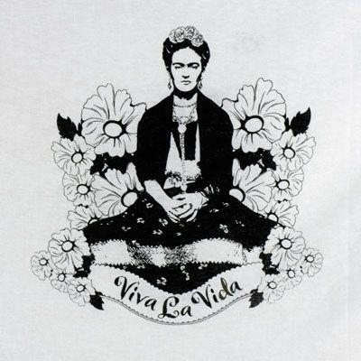 frida kahlo artwork and meaning   Frida Kahlo Viva La Vida Flour Sack Towel