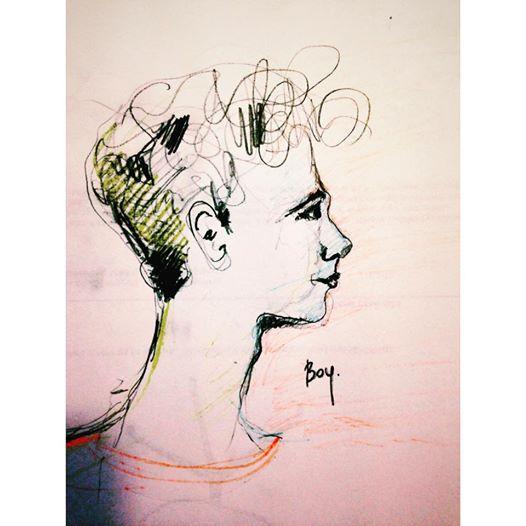 boy. #drawing #portrait  #boy