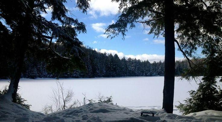 Western Uplands Backpacking Trail. Algonquin Park.