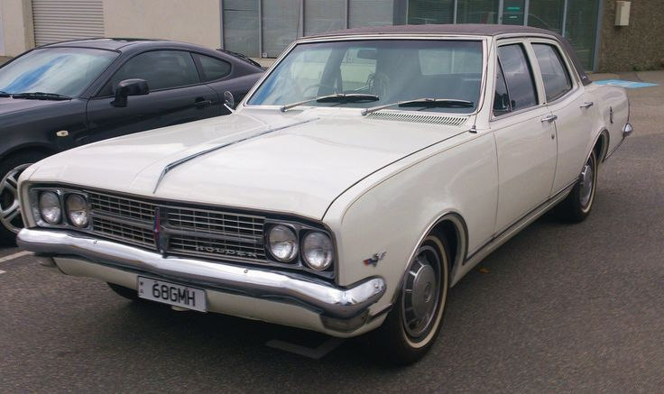 1968 Holden HK Brougham 308 V-8 Saloon. Made by General Motors Holden (G.M.H) in Melbourne, Australia.  v@e.