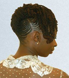 cornrows with bun | twists and braids 1 150x150 The Ins & Outs of Two Strand Twists
