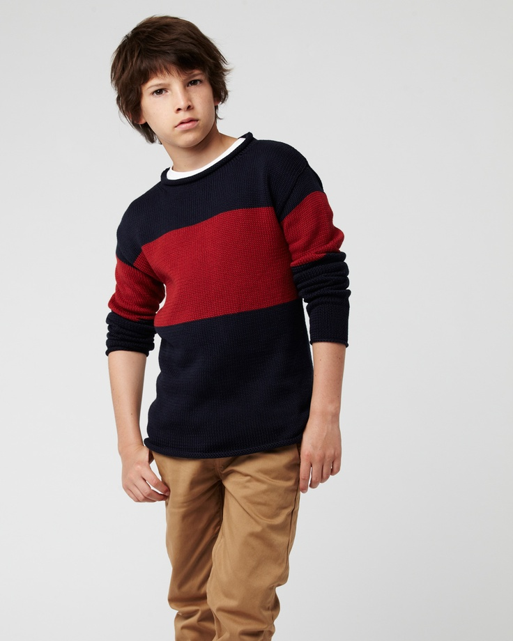 the ROLL NECK knit. available in ages 8 - 14. www.industriekids.com.au