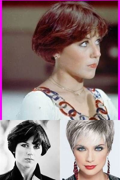 Dorothy Hamill Wedge Haircut Front And Back View Bing