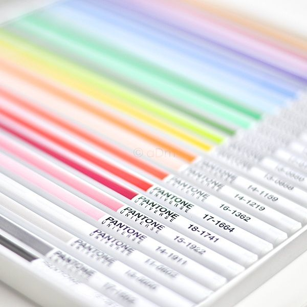 Back to School with Pantone | colored pencil set