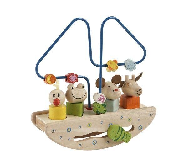 Primi Passi Multifunkční lodička, SUPER CENA 299,-- Kč #vánoce #dárek #narozeniny #svátek #nejmenší #oslava #děti #rodina #hračky #3dmámablog.cz