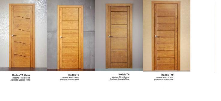 made of wood puertas modernas en madera maciza s las